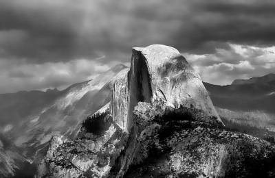 Half Dome After The Storm