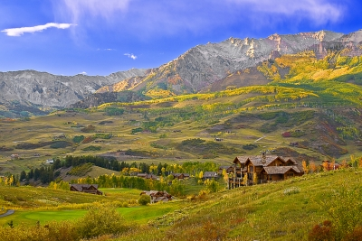 Colorado, Telluride, San Juan Mountain, Fall Colors