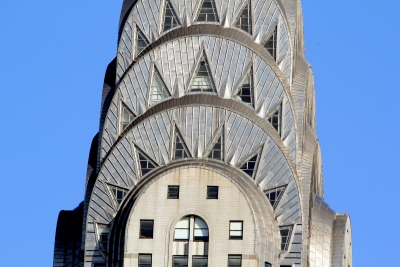 Top Of Chrysler Building