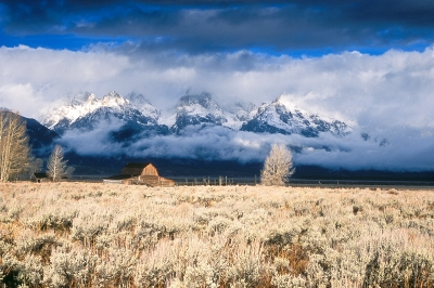 Moulton Barn And Tetons