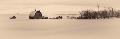 Winter In The Peace Country