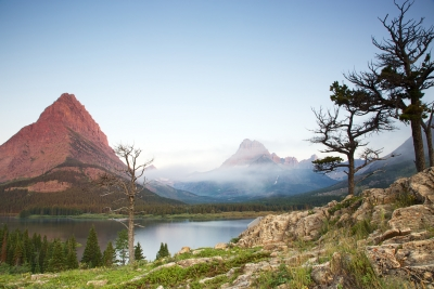 Swiftcurrent Lake Morning