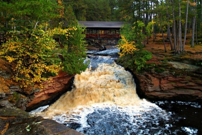 Lower Falls – Amnicon Falls State Park Wi