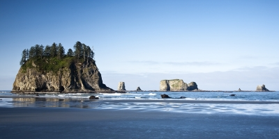 Second Beach -olympic National Park
