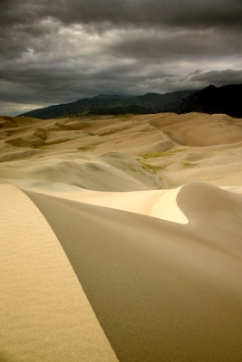 Distant Storm At Great Sand Dunes
