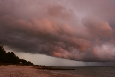 Storm Front Over The Gulf