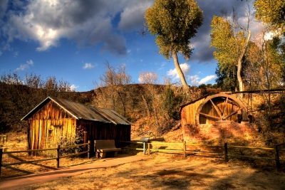 Grist Mill In Sedona