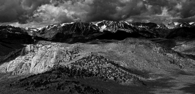 Eastern Sierras From The Summit Of Granite Mountain