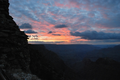 Sunset On The Grand Canyon.