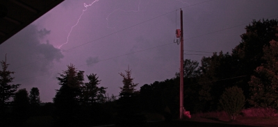 Last Night's Lightning