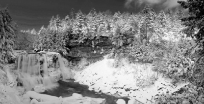 Blackwater Falls Panorama