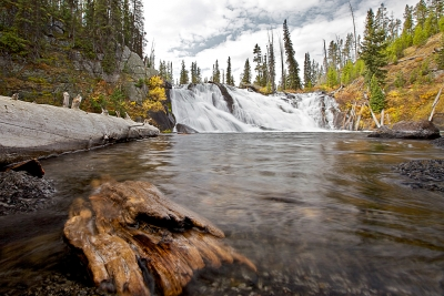 Lewis Falls, New Perspective