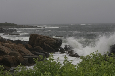 Rainy Day In Maine