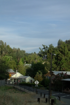Evening In Amador City