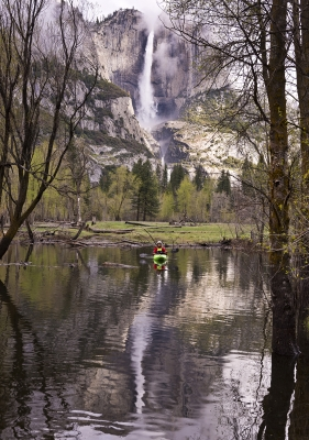 Kayaking In Yosemite