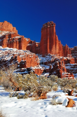 Fisher Towers Winter