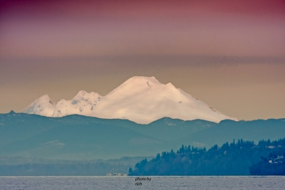 Mount Baker In Volcano Country