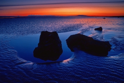 Low Tide After Sunset