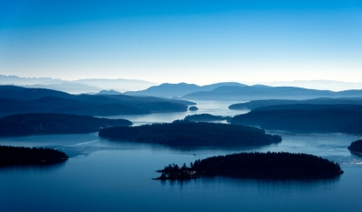 50 Shades Of Blue In The San Juan Islands