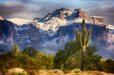 Snow Covered Superstitions