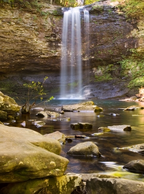 Cloudland Canyon Sp_waterfall #1
