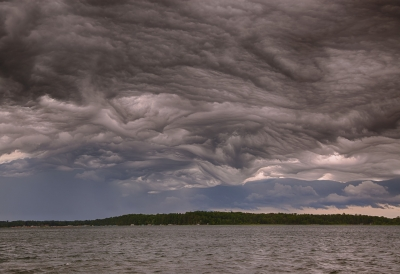 Storm Clouds Over North Sand