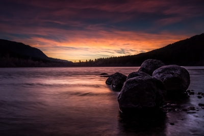 Sunset At Rattlesnake Lake
