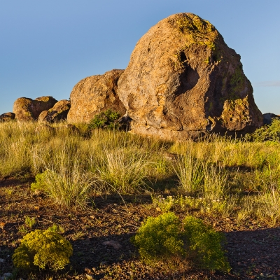 Sunrise, City Of Rocks Boulders