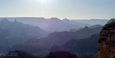 Morning Haze From Hopi Point