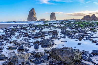 Low Tide At Cannon Beach