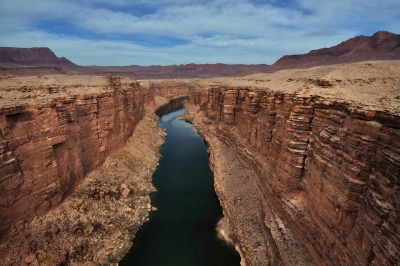 Marble Canyon And The Colorado