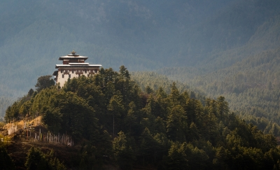 Jakar Dzong After The Rain