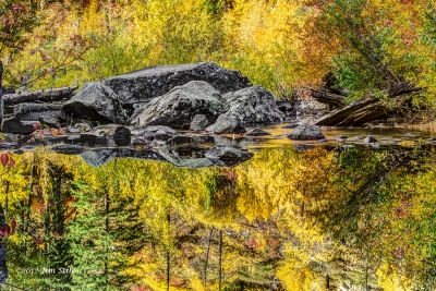 Tumwater Canyon Reflections