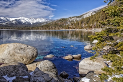 Lake Tahoe Reflections – Sand Harbor State Park