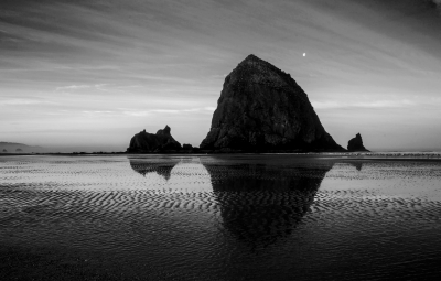 Haystack Black And White