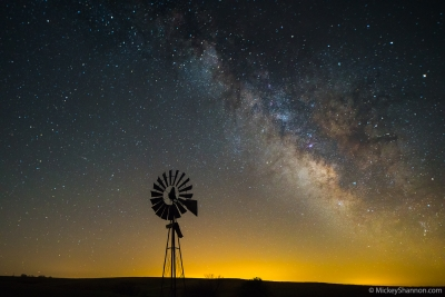 Windmill Milky Way