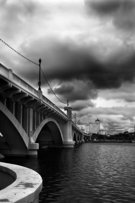 Storm Clouds At Tempe Town Lake