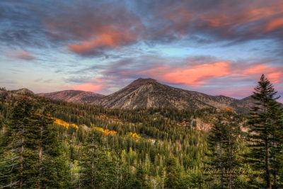 Mt Rose Autumn Sunrise