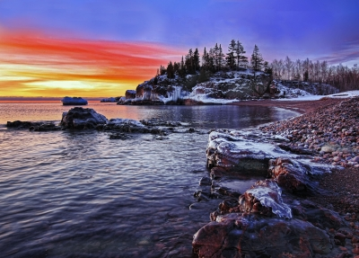 A Lake Superior Sunrise