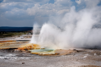 Geyser @ Yellowstone