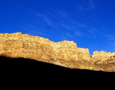 Early Light In Shell Canyon