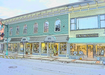 Whimsical New England Village (rockland, Maine)