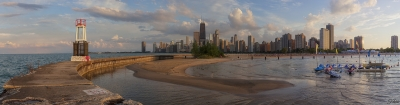 North Avenue Beach Panoramic