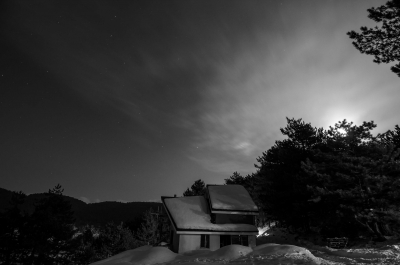 Cabin Under The Moon