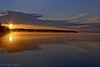 Sunrise Over Grand Lac St-francois