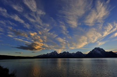 Jackson Lake Sunset