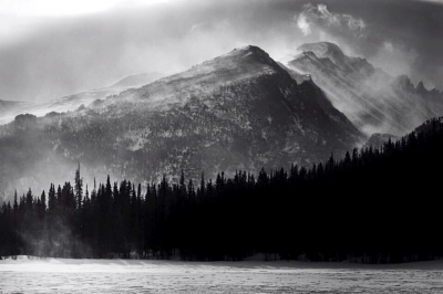 Rocky Mountain National Park Ansel Adams Tribute
