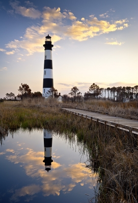 Bodie Island Lighthouse – Cape Hatteras Outer Banks Nc