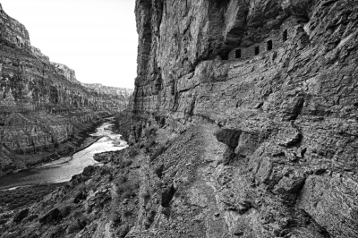 Grand Canyon Black And White