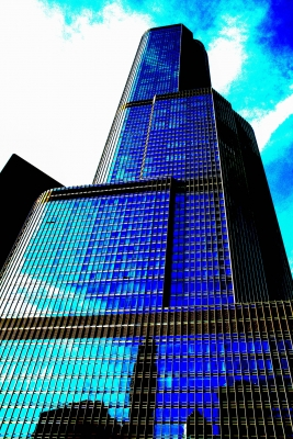 Chicago's Trump Building In Abstract